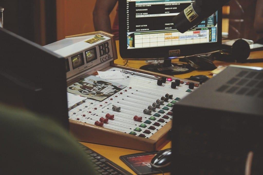 Music Producer's Studio Image