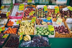 It's very easy to price fruit and veg. Less so for logos and brochures...