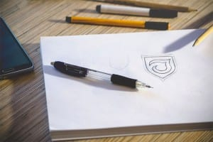 setting a budget - sketching a logo