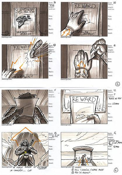 Animated explainer video storyboard