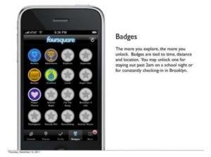 Foursquare pitch deck design