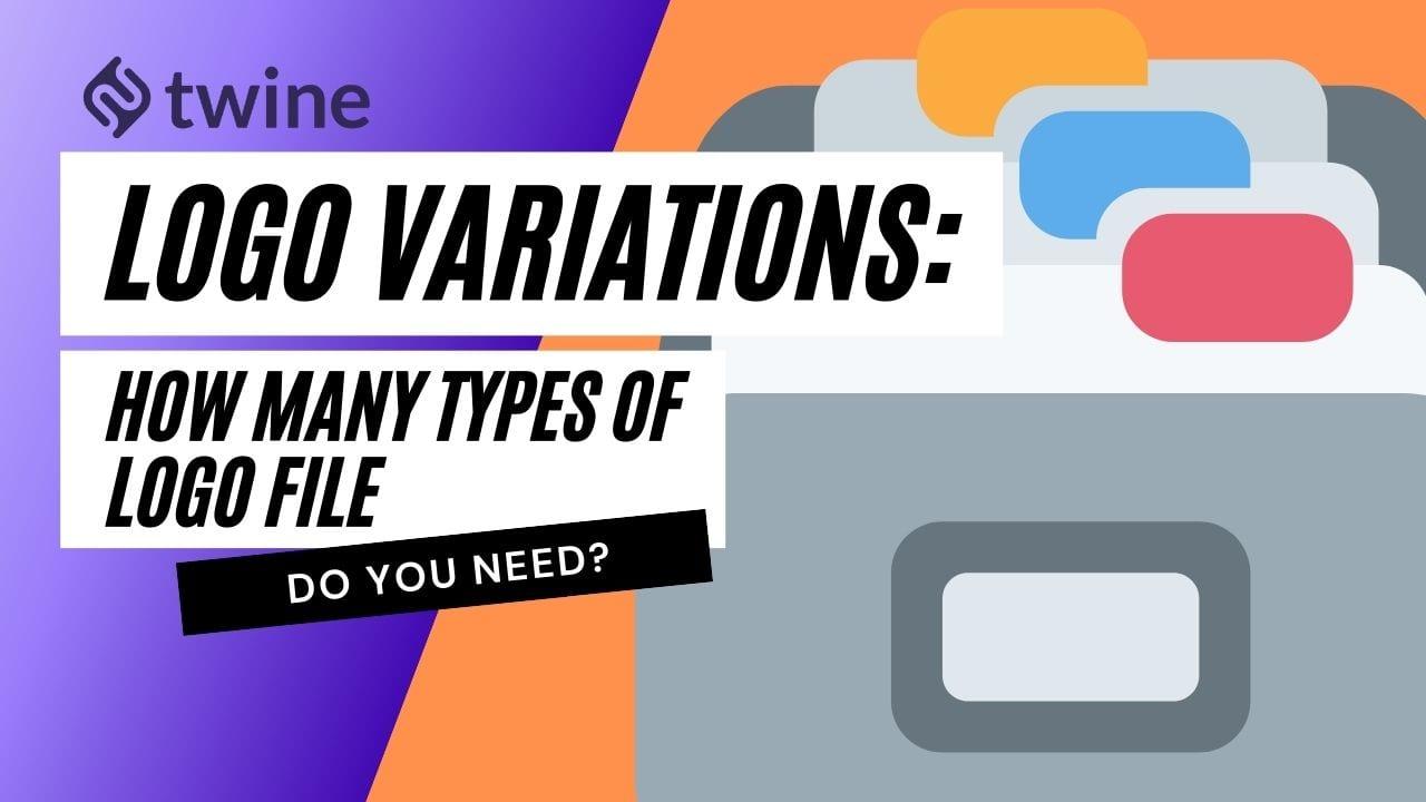 logo variation: how many types of logo file do you need - twine thumbnail image