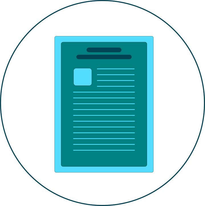Illustration of a teal-coloured contract. Retainer agreements might seem like a good way to cut agency costs, but this often isn't the reality.