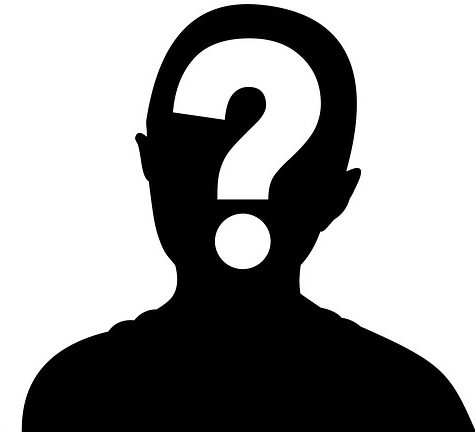 Silhouetted figure, with a question mark covering the face. When you work with creative agencies, you often dont know who will be working on your project.