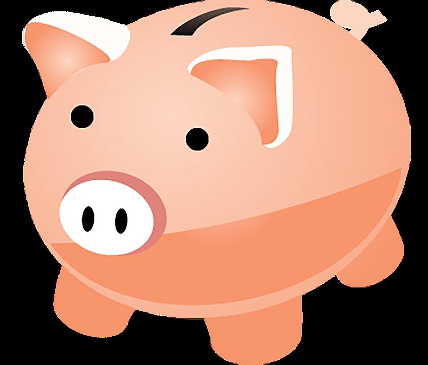 Illustration of a piggy bank.
