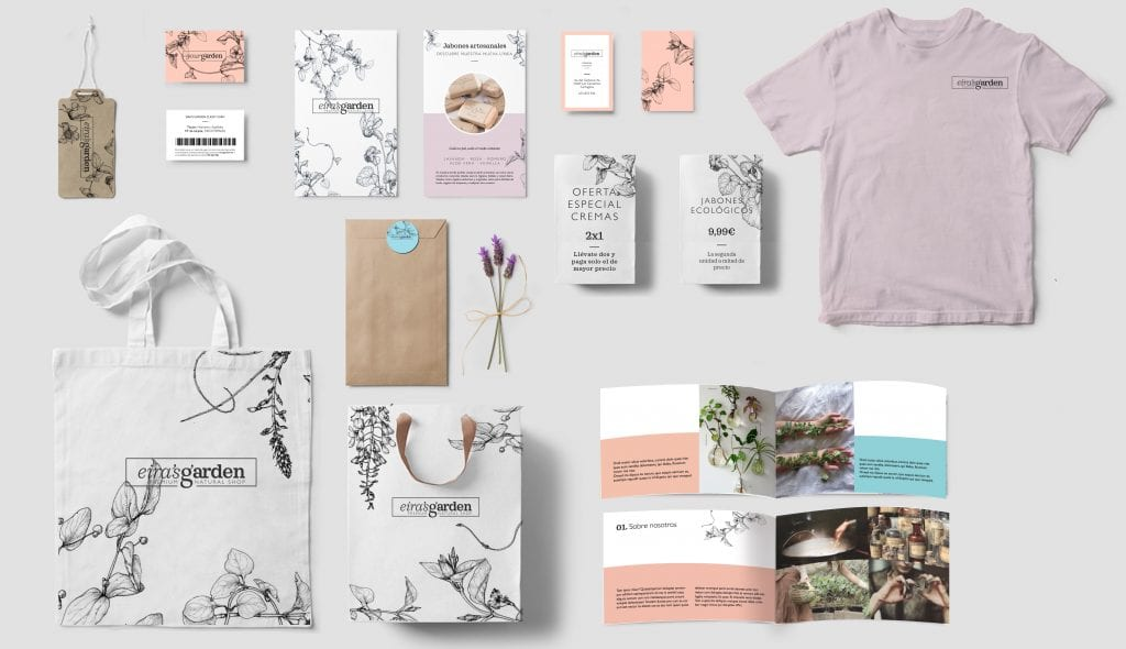 Branding and identity design for a small business, including clothing, stationery and other print materials. Finding the right performance metrics for brand design can be difficult.