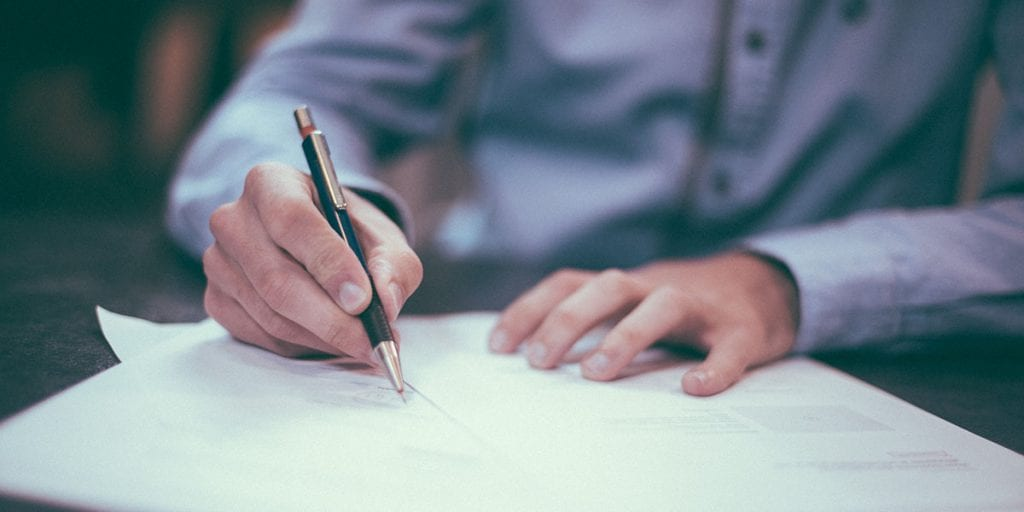 Setting up a contract