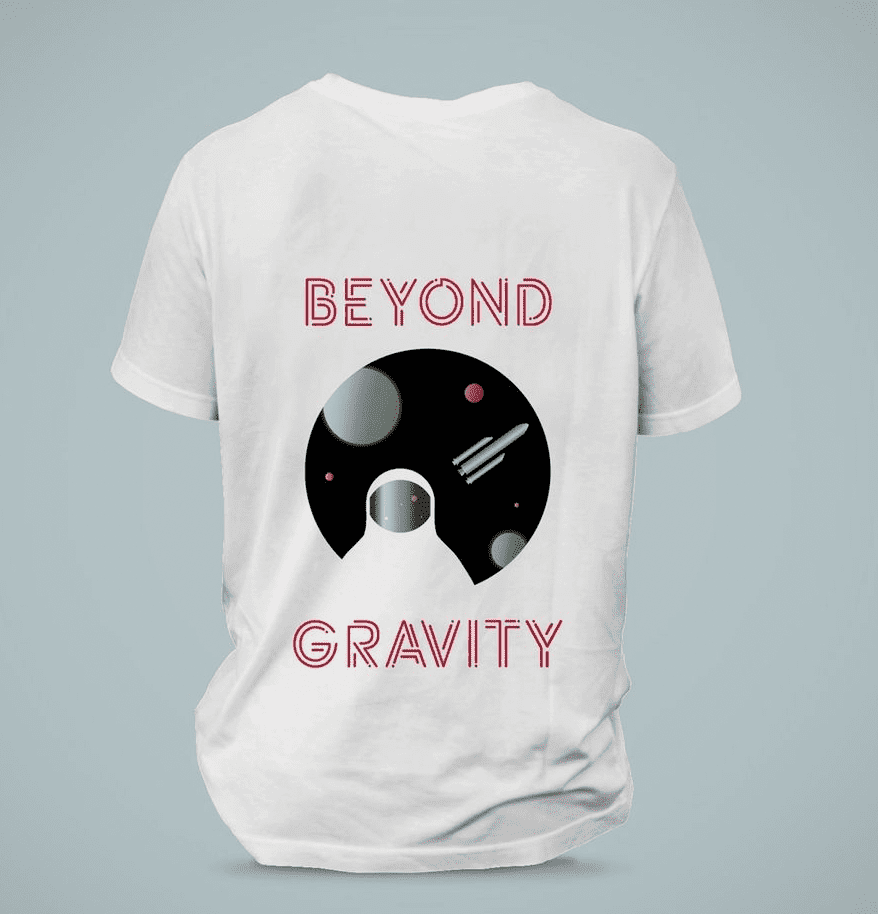 beyond gravity rocket company logo idea