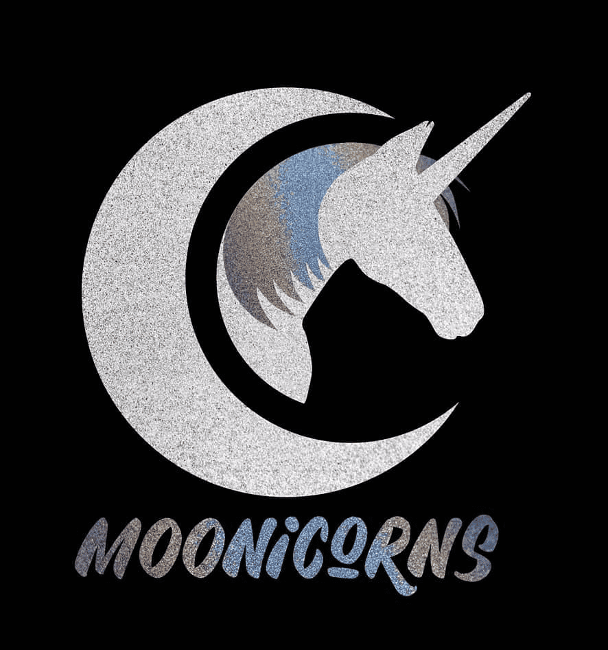 moonicorns logo design idea toy company