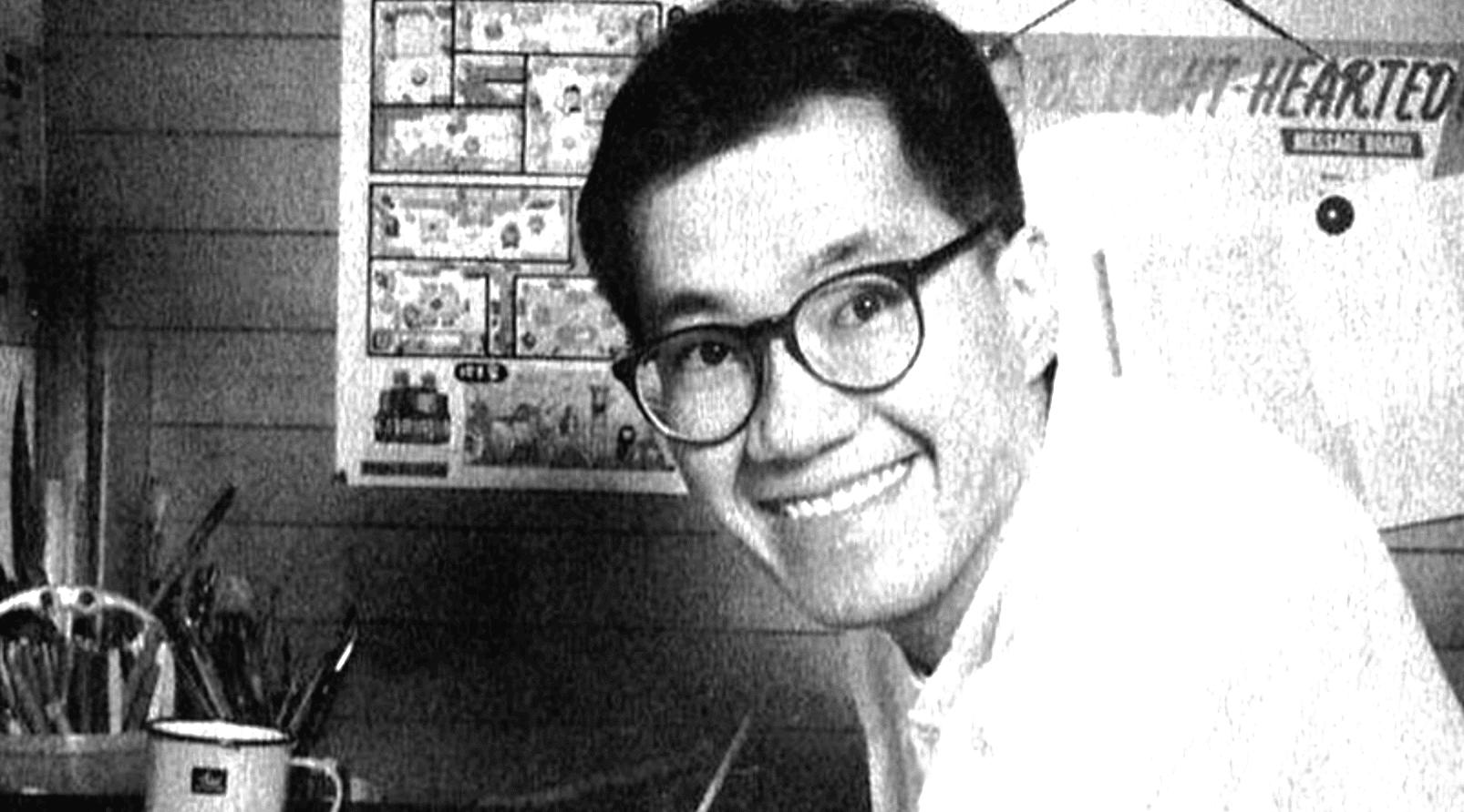 portrait of Akira Toriyama