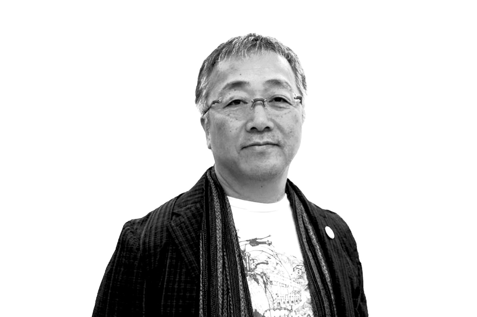 portrait of Katsuhiro Otomo