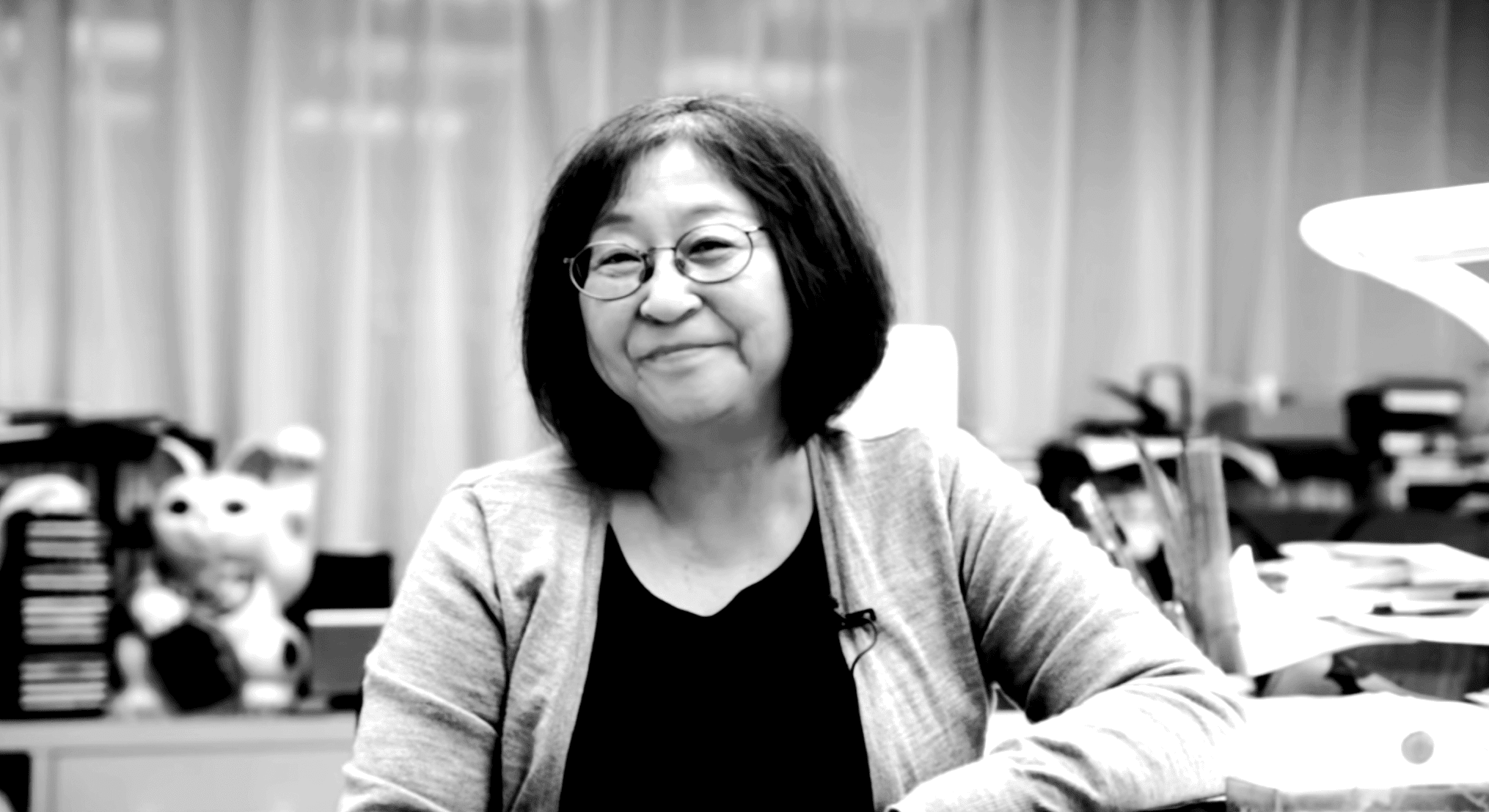 portrait of Rumiko Takahashi