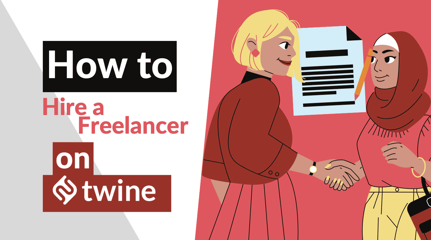 twine thumbnail how to hire a freelancer on twine