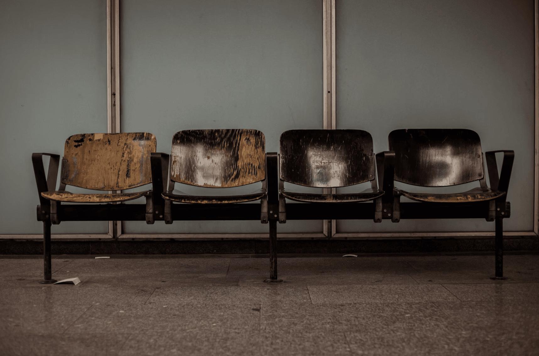 job interview waiting room seats