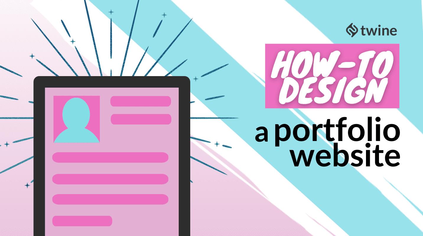 twine thumbnail how to design a portfolio website